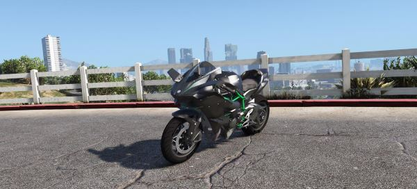 Kawasaki Ninja H2 & H2R [Add-On | Tunable] для GTA 5