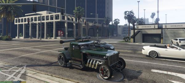 Ratrod Truck [Add-On] для GTA 5