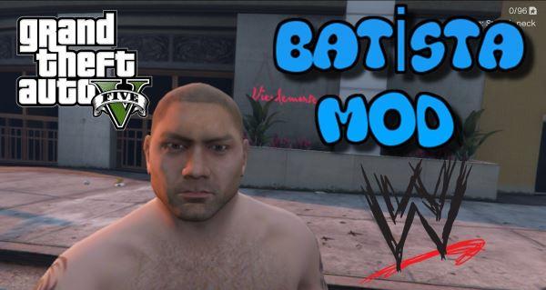 WWE - Bautista для GTA 5