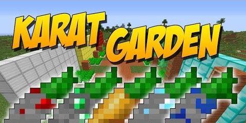 Karat Garden для Майнкрафт 1.10.2
