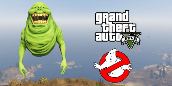 Slimer from Ghostbusters [Add-On Ped] для GTA 5