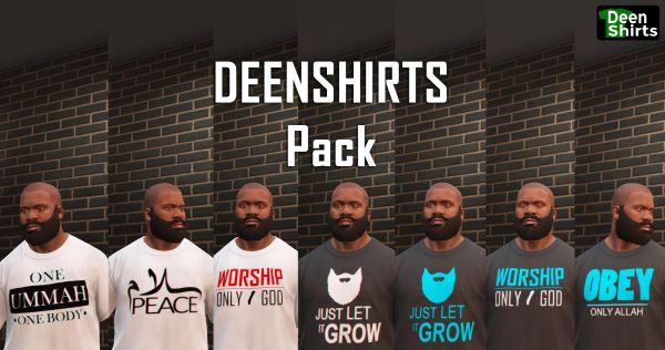 Deenshirts (T-Shirt) для GTA 5