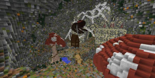 Halloween Adventure для Майнкрафт 1.10.2