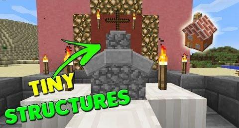 Tiny Churches для Майнкрафт 1.10.2