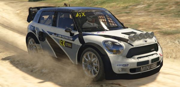 Mini Countryman Rallycross [Add-On | Livery] для GTA 5
