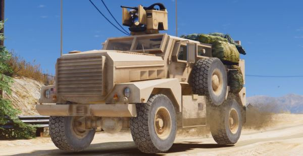 MRAP Cougar 4x4 [Add-On] для GTA 5