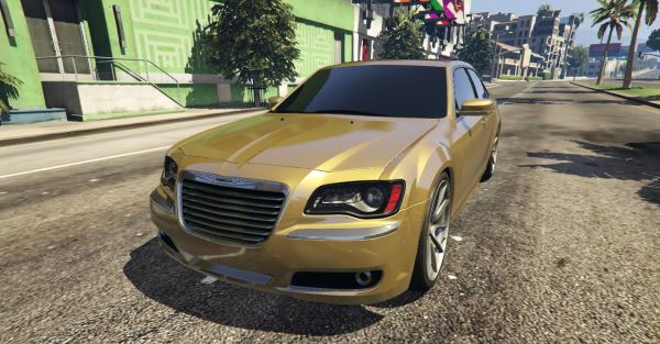 2012 Chrysler 300 SRT8 для GTA 5