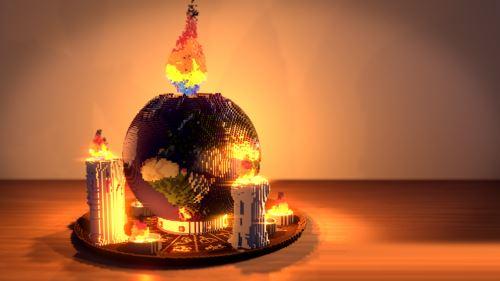 Global warming для Майнкрафт 1.10.2