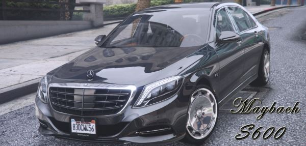 Maybach S600 2016 [Replace] для GTA 5