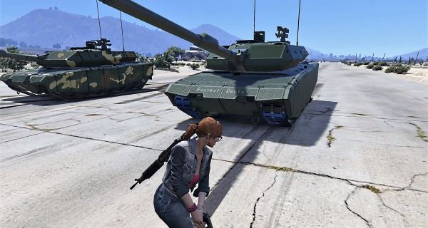 Leopard 2A7+ MBT [Add-On / Replace | HQ] для GTA 5