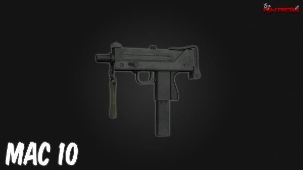 MAC-10 from CS:GO [Animated] для GTA 5