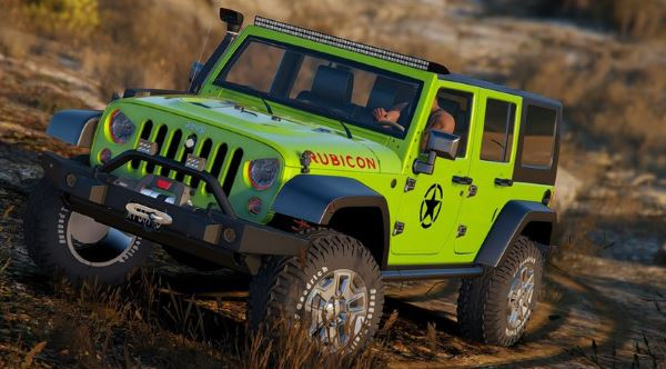 2014 Jeep Wrangler Rubicon для GTA 5