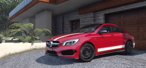 2014 Mercedes-Benz CLA 45 AMG Coupe [Add-On / Replace | Livery | HQ] для GTA 5
