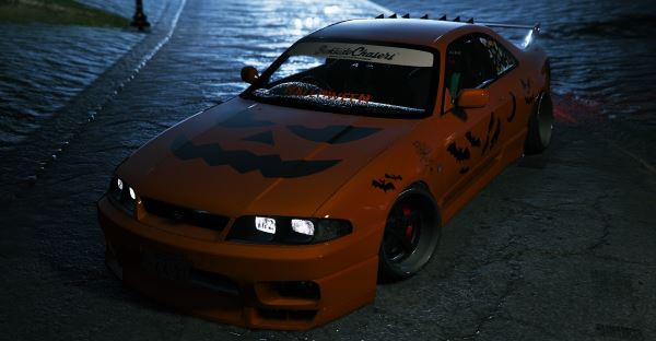 Nissan GTR R33 Halloween Special Release для GTA 5