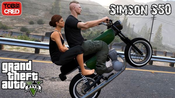 Simson S50/S51 [Add-On / Replace] для GTA 5