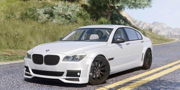 BMW Lumma CLR 750 для GTA 5