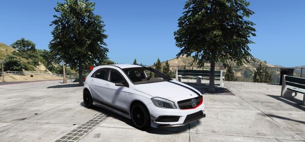 Mercedes Benz AMG A45 Edition:1 [Add-On] для GTA 5