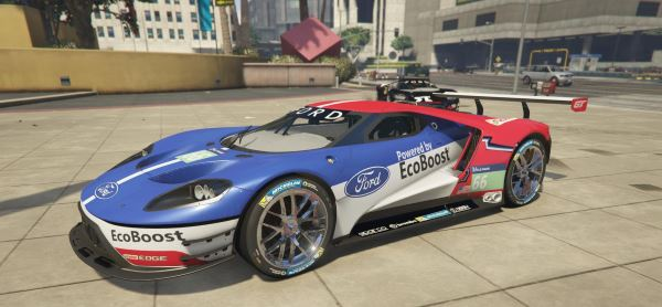 Ford GT LMS 6.1 [Add-On | Livery] для GTA 5