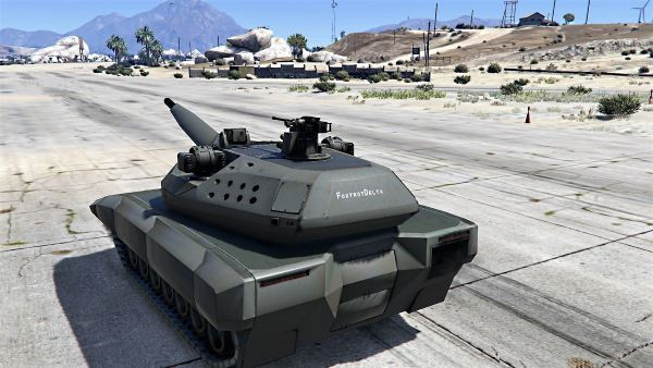PL-01 Future MBT [Add-On | HQ] для GTA 5