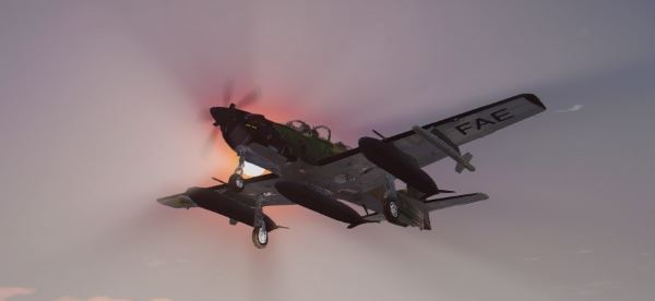 Embraer A-29B Super Tucano [Add-On] для GTA 5