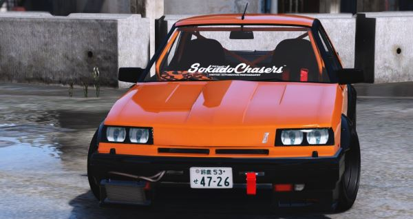 Nissan Skyline RS-X R30 [Replace] для GTA 5