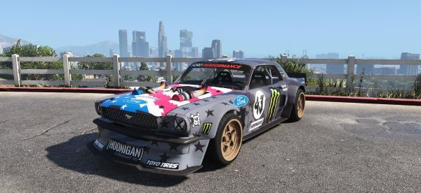 Ford Mustang 1965 RTR Hoonicorn V2 [Replace] для GTA 5