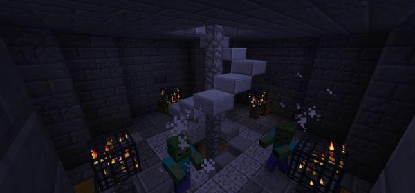 A Frozen World для Майнкрафт 1.10.2