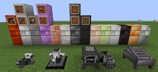 Rockhounding Mod: Chemistry для Майнкрафт 1.10.2