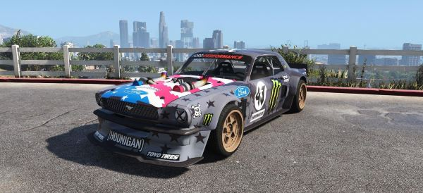 Ford Mustang 1965 RTR Hoonicorn V2 [Add-On / Replace] для GTA 5