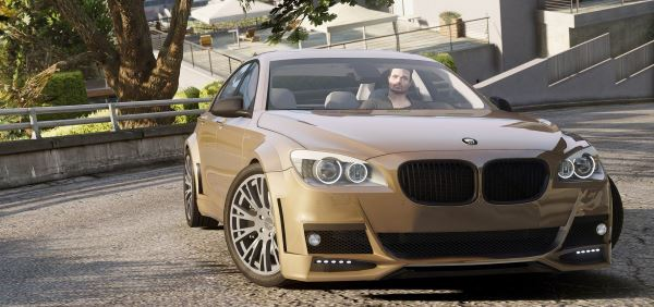 BMW Lumma CLR 750 [Add-On / Replace] v 1.3 для GTA 5