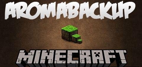 AromaBackup для Майнкрафт 1.10.2