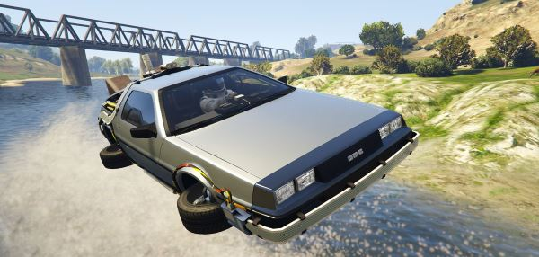 Delorean DMC12 / BTTF2 / Flying (3in1) [Add-On] для GTA 5
