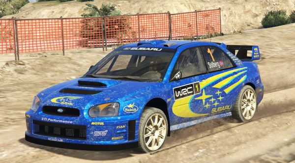 Subaru Impreza S11 WRC [Add-On | Livery] v 1.4 для GTA 5