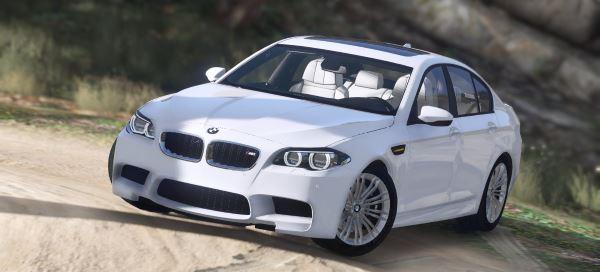 2016 BMW M5 F10 v 1.8 для GTA 5