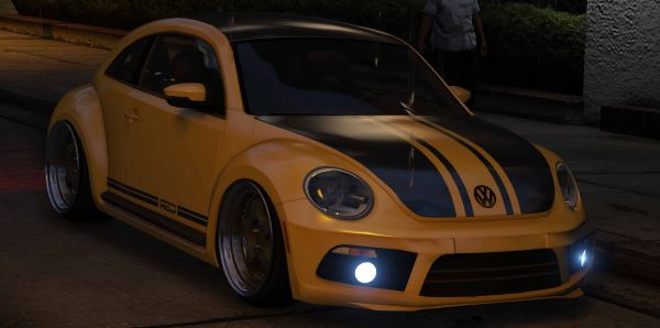2012 Limited Edition VW Beetle GSR v 2.0 для GTA 5