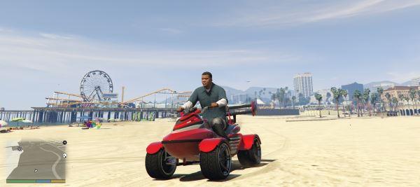 Sea Blazer для GTA 5