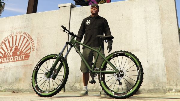 Scorcher (Mountain Bike) - Tire Color & Handling v 1.1 для GTA 5