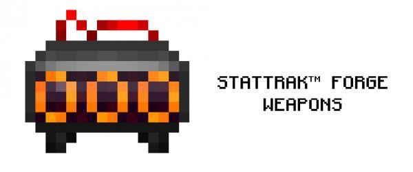 Stat-Trak Forge Weapons для Майнкрафт 1.10.2