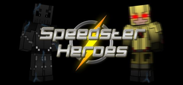 Speedster Heroes для Майнкрафт 1.10.2