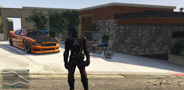 Arkham Knight [Add-On-Ped] для GTA 5