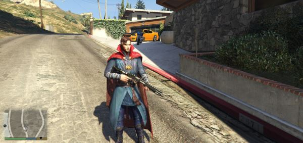 Doctor Strange (Movie) [Add-On Ped] для GTA 5