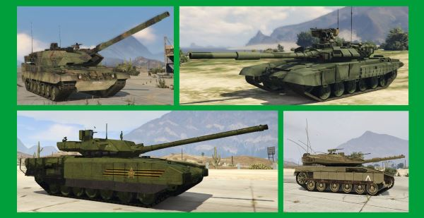 Armored Vehicles Add-On Pack для GTA 5
