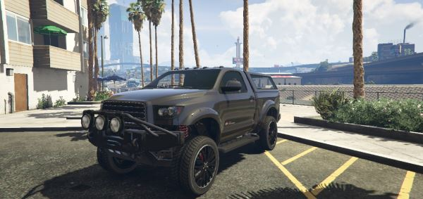 Contender Single Cab [Replace] для GTA 5