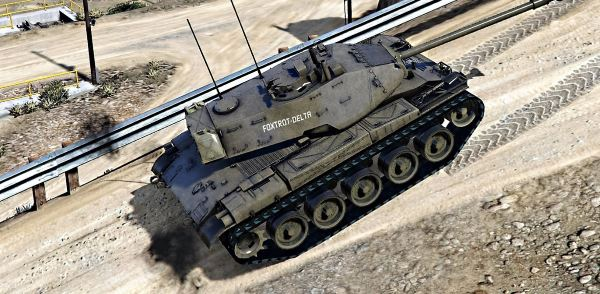 M-41 Walker Bulldog USA [Add-On | HQ] v 1.4 для GTA 5