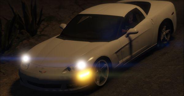 Chevrolet Corvette C6 Z51 для GTA 5