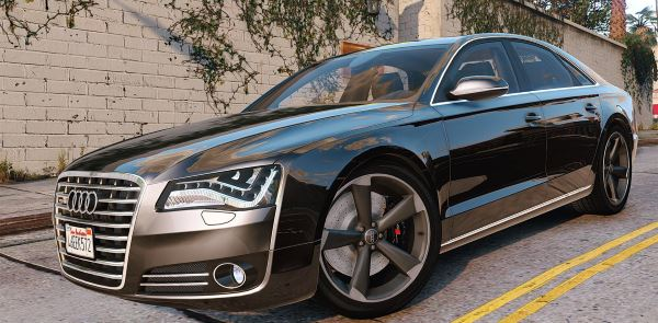 2010 Audi A8 FSI [Add-On / Replace] v 4.0 для GTA 5