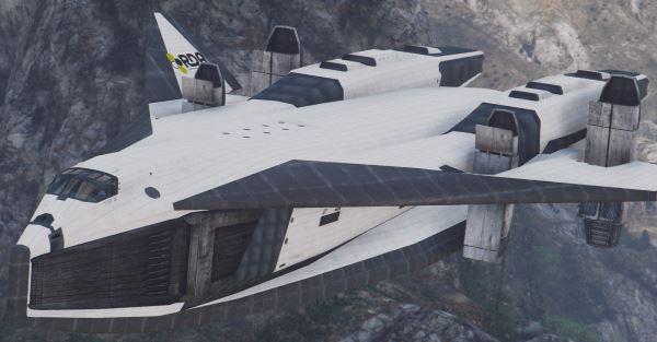 TAV-37 Valkyrie SSTO Shuttle из фильма Аватар [Add-On] для GTA 5