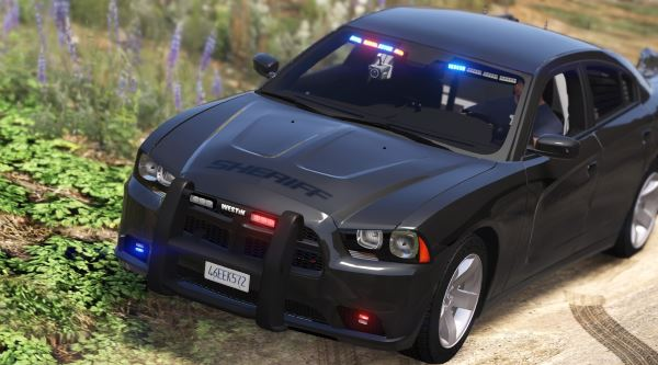 Unmarked 2013 Dodge Charger v 2.0 для GTA 5