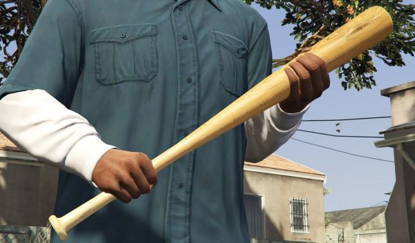 Wooden Bat [Add-On / Replace] для GTA 5