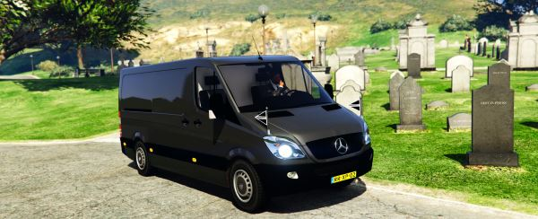 Mercedes-Benz Sprinter Сoroner Hearse для GTA 5